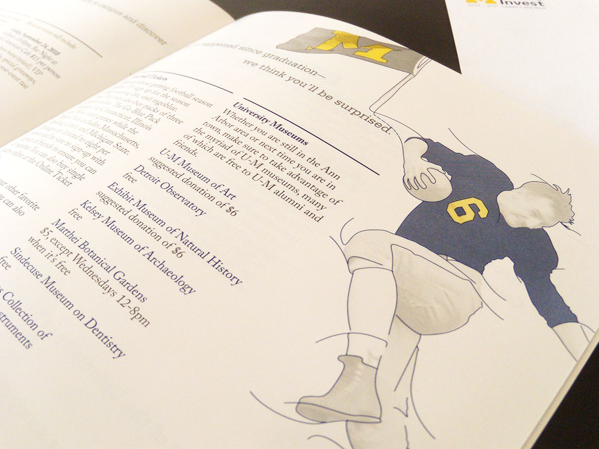 University of Michigan Print Work